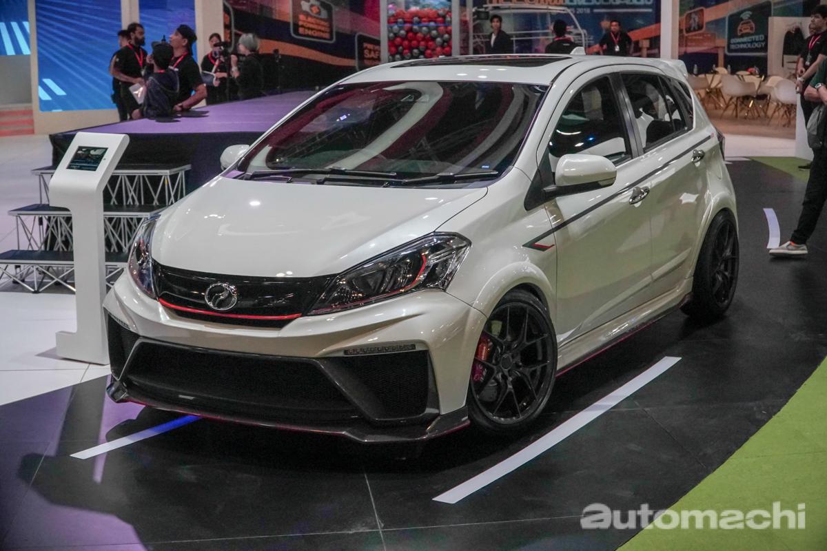KLIMS 2018 : Perodua Myvi GT Concept 帅气登场!