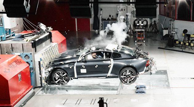 碳纤维车体打造, Polestar 1 撞击成绩超出色!