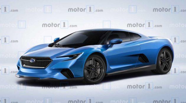 进军跑车市场? Subaru 计划推出中置引擎跑车!