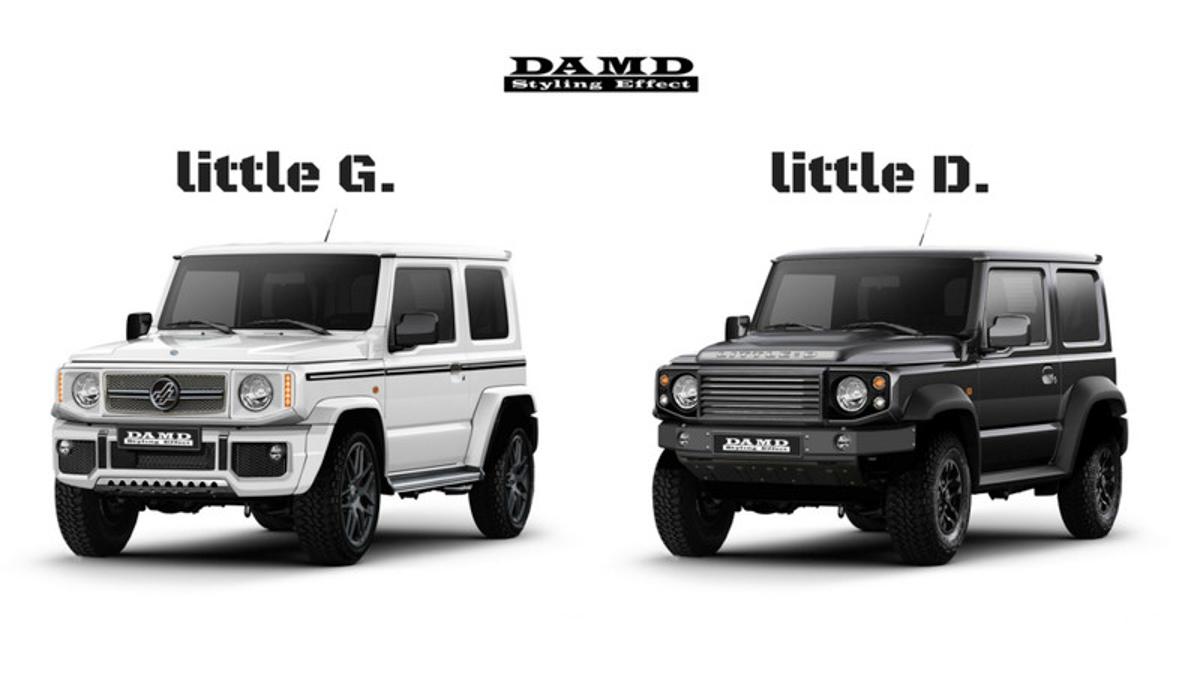 迷你版 Defender! Suzuki Jimny DAMD Kit 可爱登场!