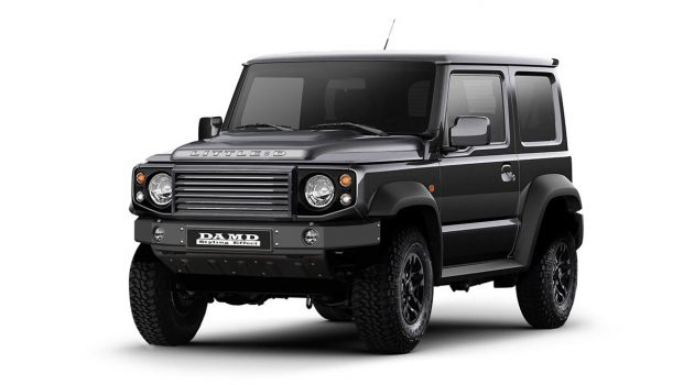 迷你版 Defender! Suzuki Jimny DAMD Kit 可爱登场!