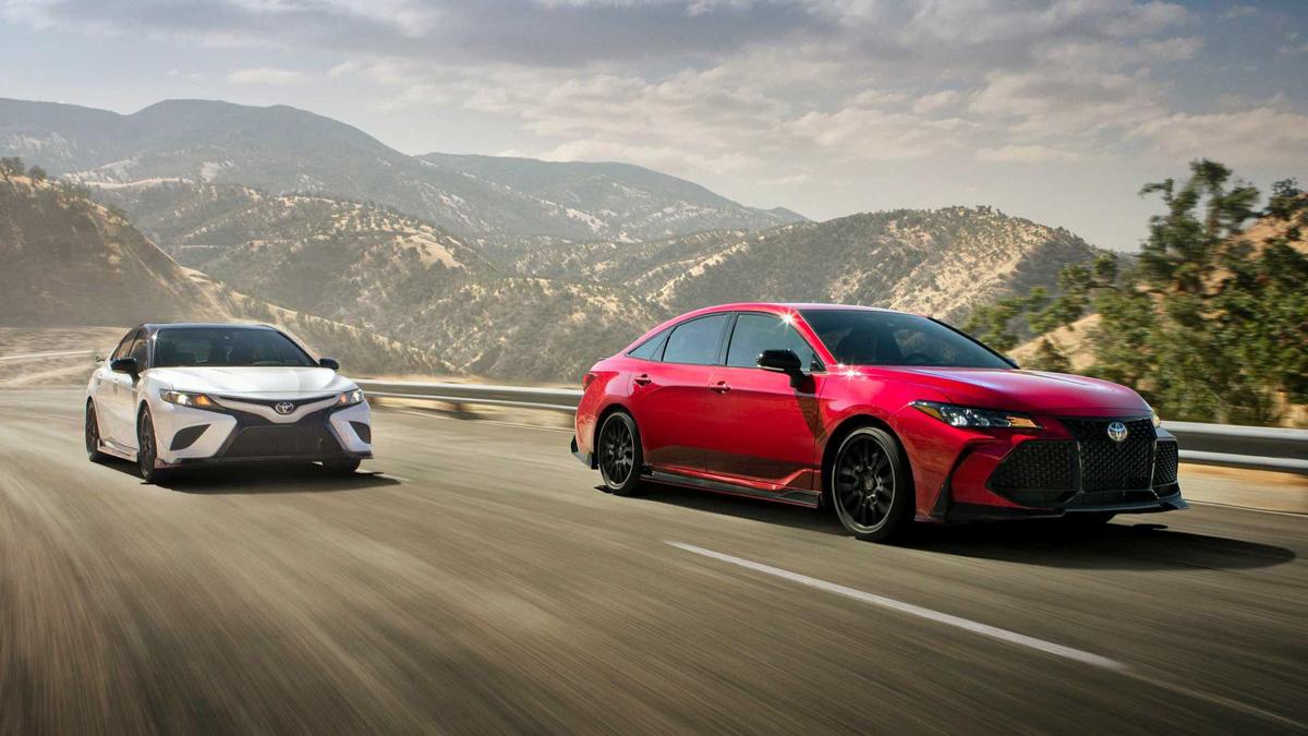不止改外观! Toyota Camry TRD 性能版帅气登场!