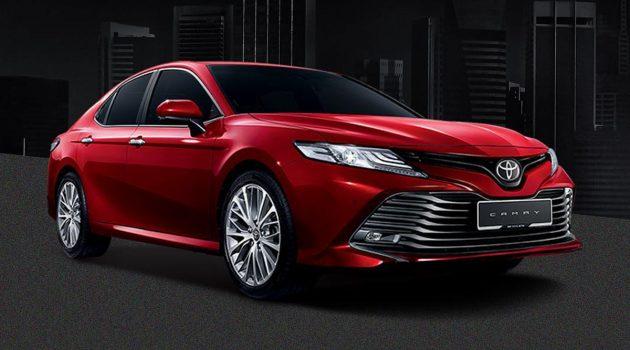 Toyota Camry XV70 2.5V 确认 KLIMS 2018 正式发表!