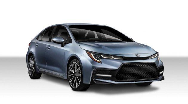 有点不一样!美规 2020 Toyota Corolla Sedan 同步发表!