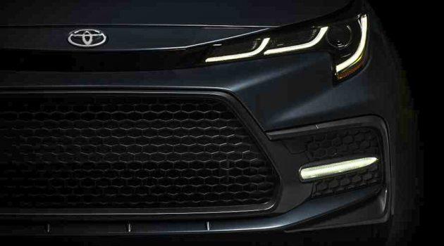 还有4天! Toyota Corolla Sedan 预告露脸!