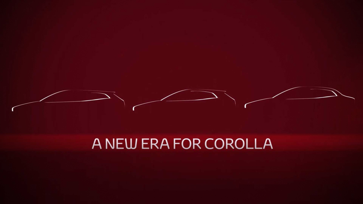 Toyota Corolla Sedan 预告释出,11月16日广州车展见!