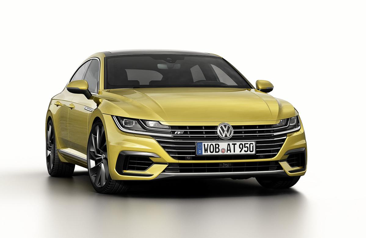 最美轿跑来袭, Volkswagen Arteon 有望明年登陆我国!