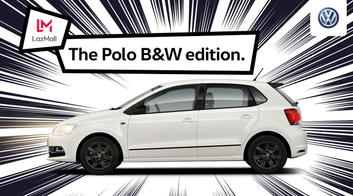 Volkswagen Polo B&W 双11网上开卖,1分钟内售罄!