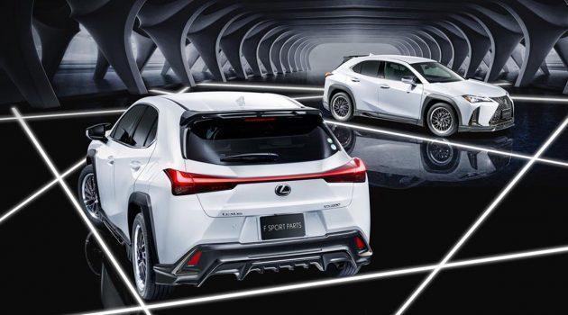 Lexus UX200 TRD 登场,这个设计你喜欢吗?