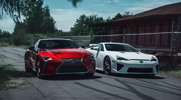 兄弟的对决, Lexus LFA VS LC500 !