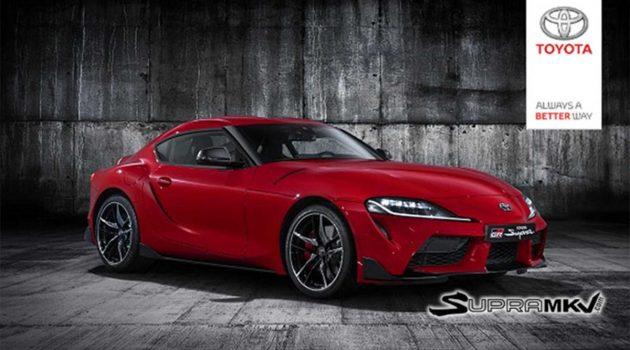 2019 Toyota Supra 官图提早释出,真面目全然曝光!