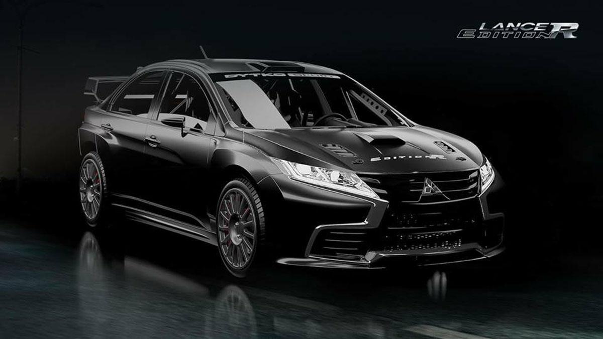 三菱粉丝让传奇复活, Mitsubishi Lancer Evo Edition R 假想图!