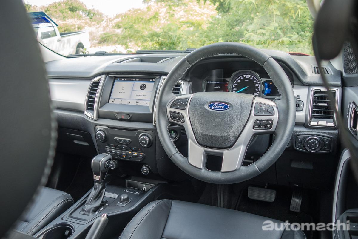 2018 Ford Ranger XLT+ 4X4 ,市区驾驶也可以很写意!