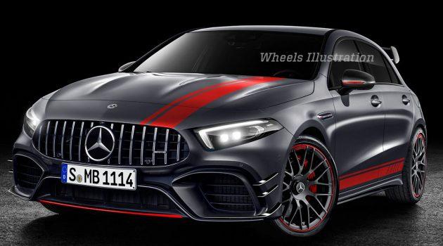 Mercedes-AMG A45 S 动力规格曝光,最大马力421 PS!
