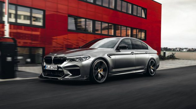 BMW M5 AC Schnitzer 强势出击,最大马力 700 PS!