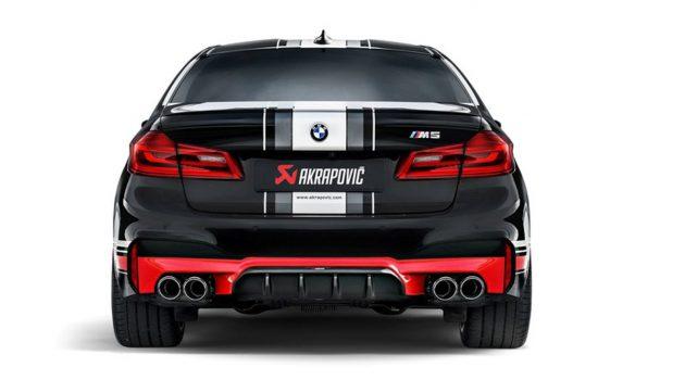 暴力毒蝎!Akrapovic 推出 BMW M5 F90 专属钛合金排气管!