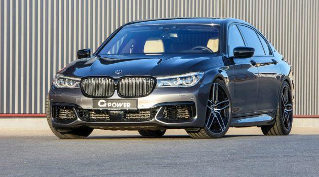 G-Power BMW M760Li ,3.4秒破百的老板车!