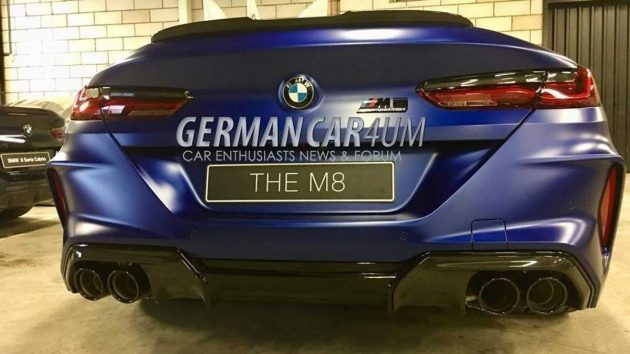 BMW M8 Competition 实车现身,宝马最强王者!
