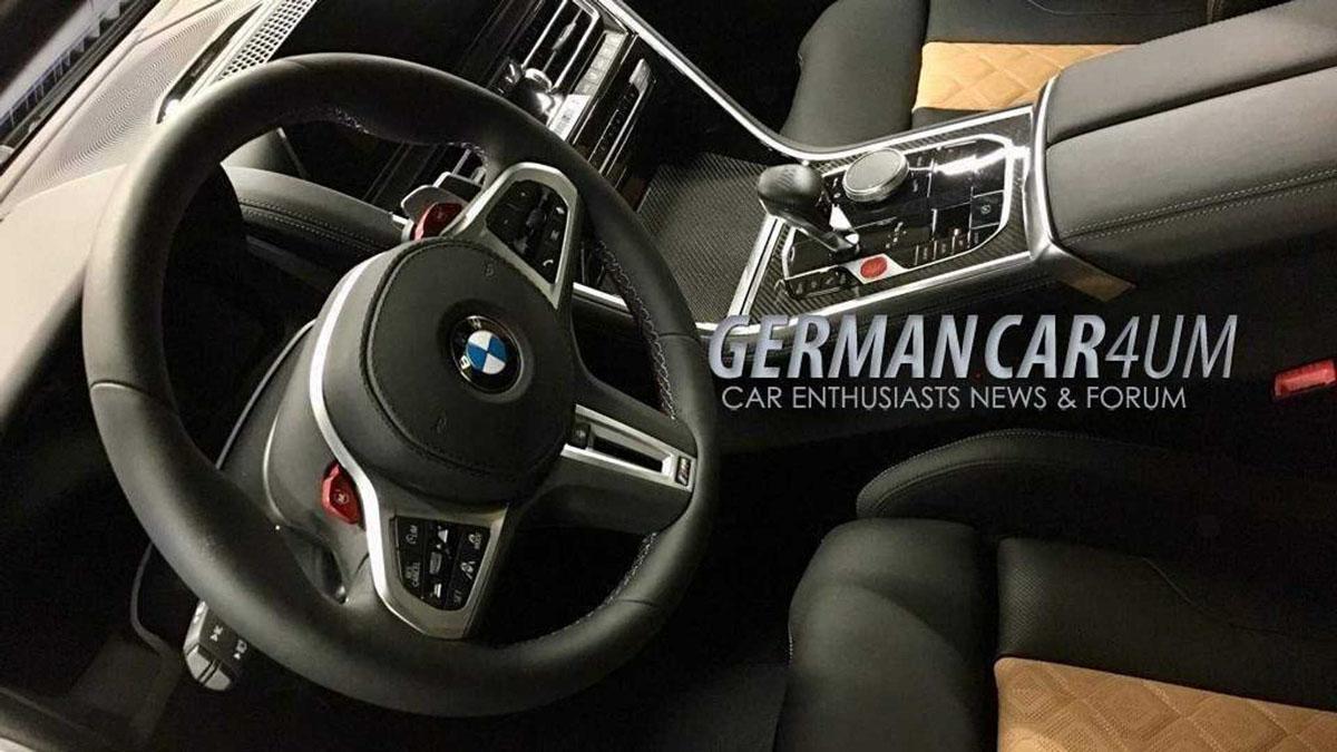 BMW M8 Competition 实车现身,宝马最强王者!