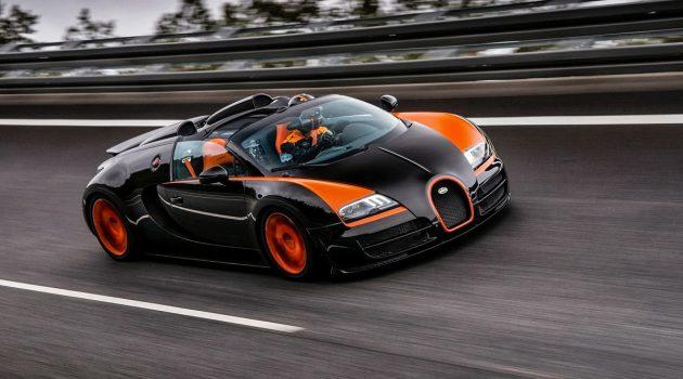 Bugatti EB110 与 Veyron 身价水涨船高