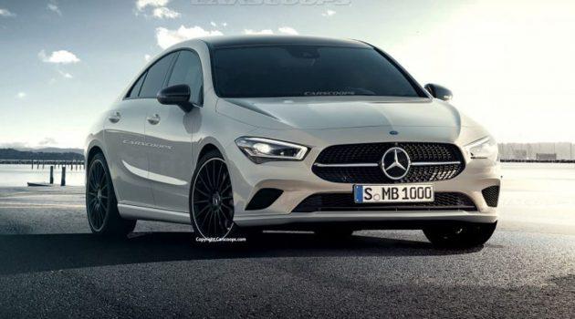 2020 Mercedes-Benz CLA 确定 CES 大展登场!