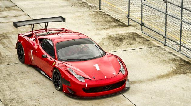 异种移植最佳引擎? Ferrari 458 GT3 引擎拍卖出售!