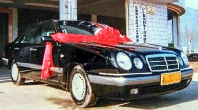 """因为社长有个""""奔驰""""梦! Geely 的第一辆车长这样!"""