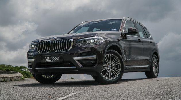 BMW X3 G01 xDrive30i ,中级SUV车型中的佼佼者!