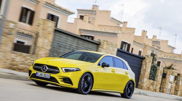 真的少过5秒! Mercedes-AMG A35 0-100 加速实测!