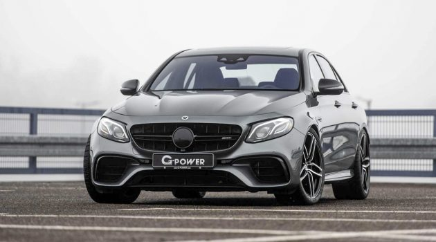 最大马力 800 hp! G-Power Mercedes-AMG E 63 S 3.1秒就破百!