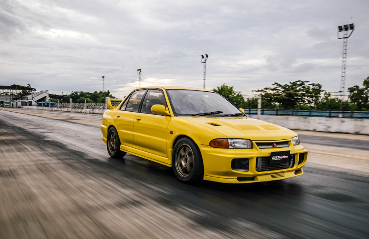 泰经典! Mitsubishi Evolution III 爆改至724 hp!