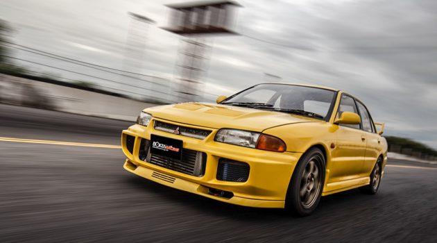 泰经典! Mitsubishi Evolution III 爆改至724 hp!