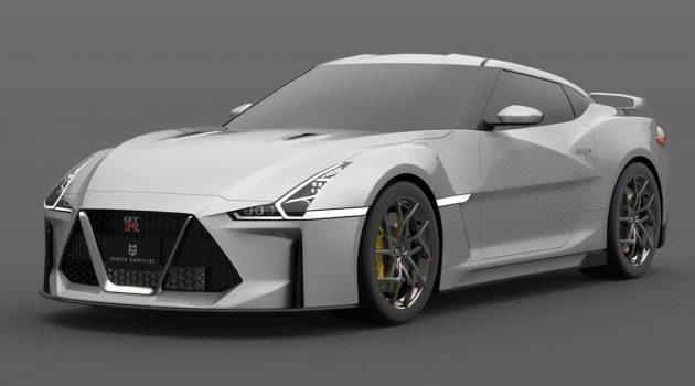 最新假想图出炉!新一代 Nissan GT-R 长这样?