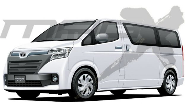Toyota Hiace 大改款即将推出!空间机能大幅度强化!