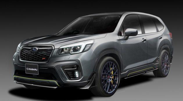热血休旅? Subaru Forester / Impreza STI 将亮相东京改装车展!