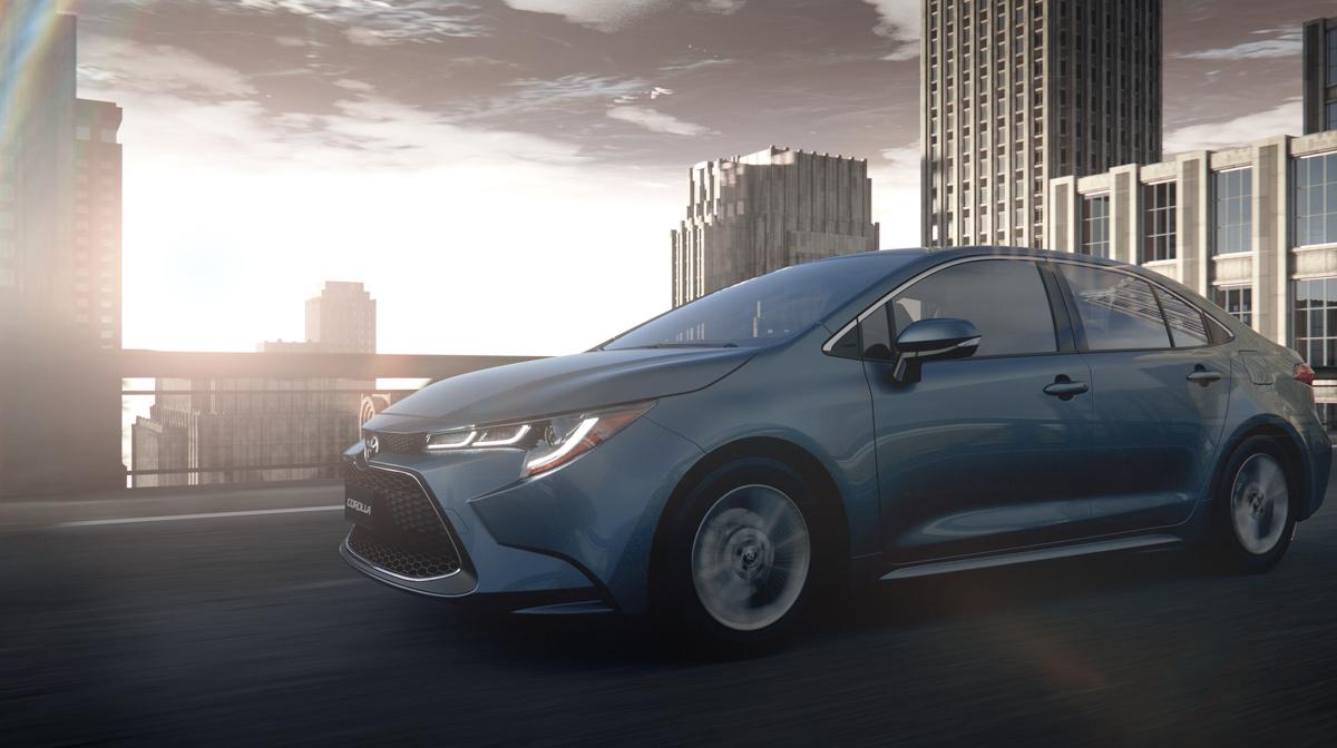 2019 Toyota Corolla Sedan 现身日本官网预告!