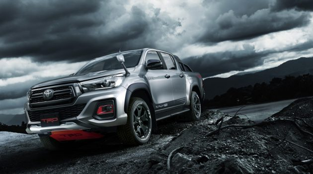 TRD 打造, Toyota Hilux Black Rally Edition 登场!