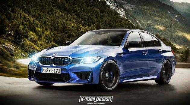 最大马力达 465 hp, 2020 BMW M3 或变身全驱房跑!