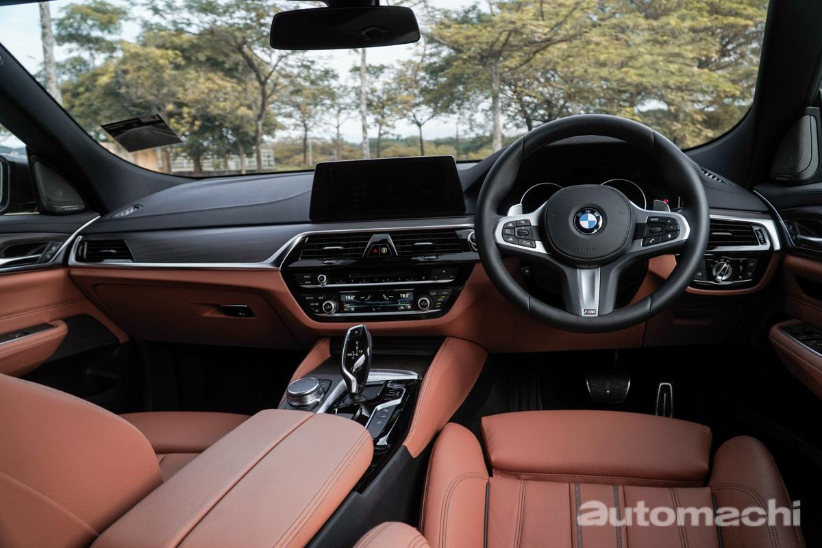 BMW 630i GT ,帅到无与伦比的Fastback!