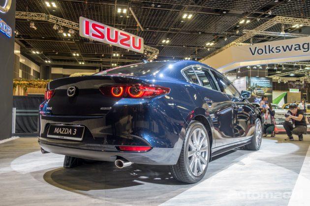 Singapore Motorshow 2019 : 2019 Mazda3 现身预览!