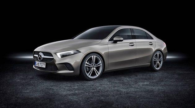 Mercedes-Benz A Class Sedan 开售,美国售价从RM 133,770起跳!