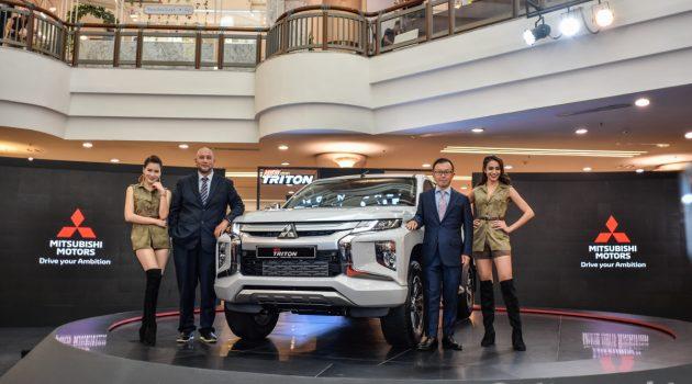 2019 Mitsubishi Triton 正式推出,售价 RM 100,200 起跳 !