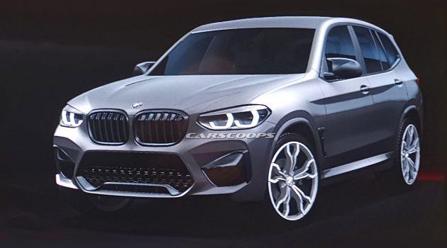 最大马力 450 hp 起跳, 2020 BMW X3 M 真面目曝光!