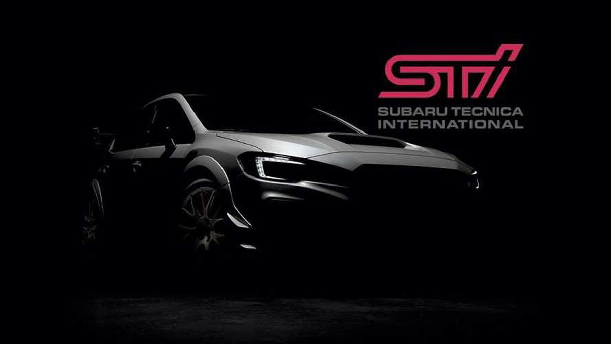 Subaru WRX STI S209 确定北美车展首发!
