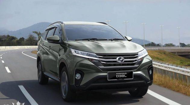 Perodua Aruz 接获300张订单,有信心成为本地SUV龙头!
