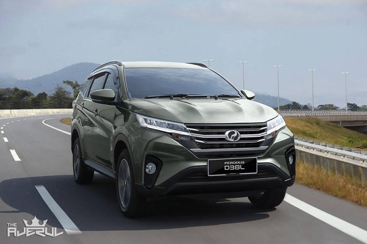 Perodua Aruz 接获300张,有信心成为本地SUV龙头!