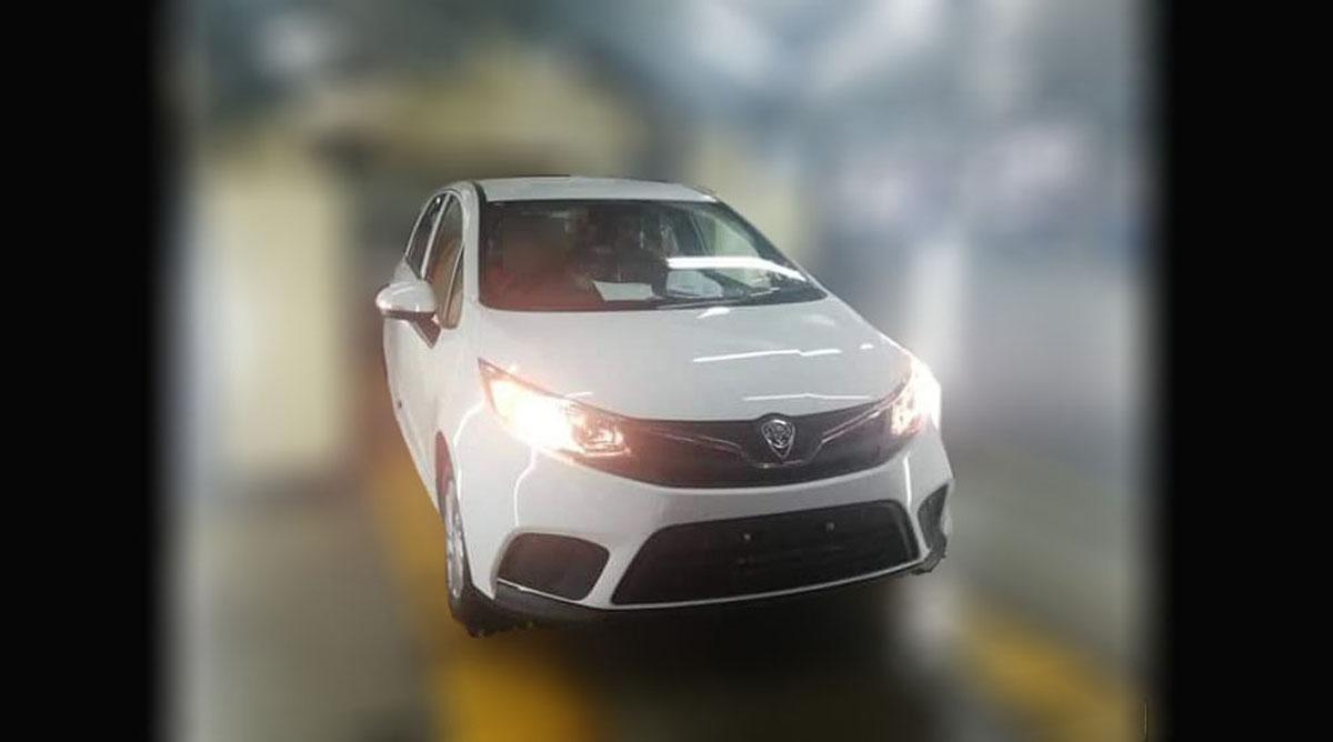 Proton Iriz MC2 实车现身,全新的车头设计!