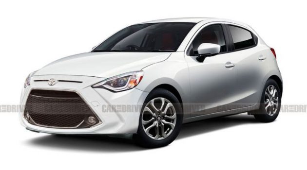 Toyota Yaris 北美版或将贴牌自 Mazda2 Hatchback