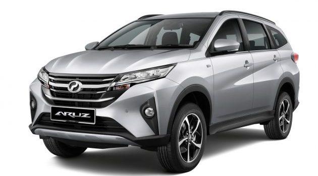 Perodua Aruz 已经接获2,200张订单!