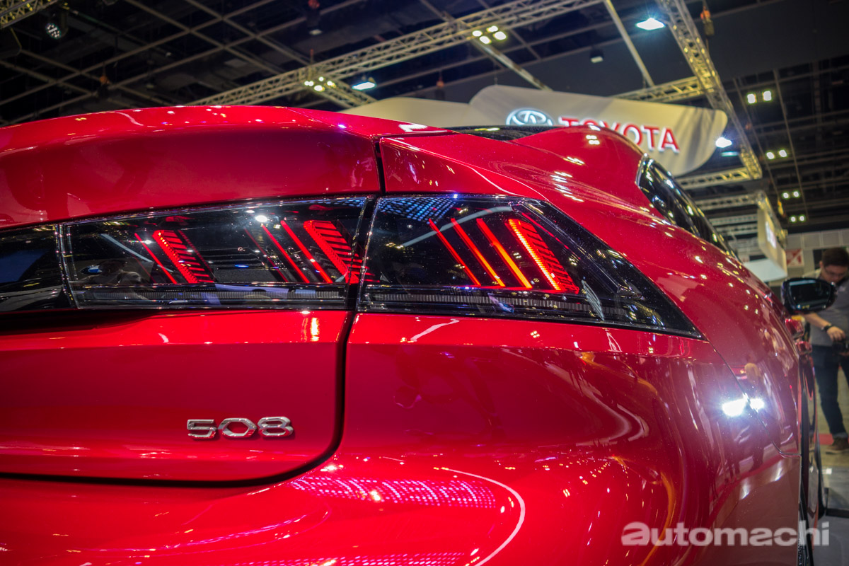 Singapore Motorshow 2019 : Peugeot 508 GT 首现东南亚!